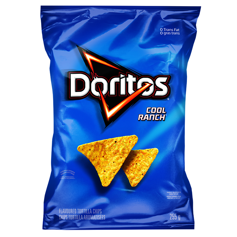 Doritos Tortilla Chips - Cool Ranch - 255g
