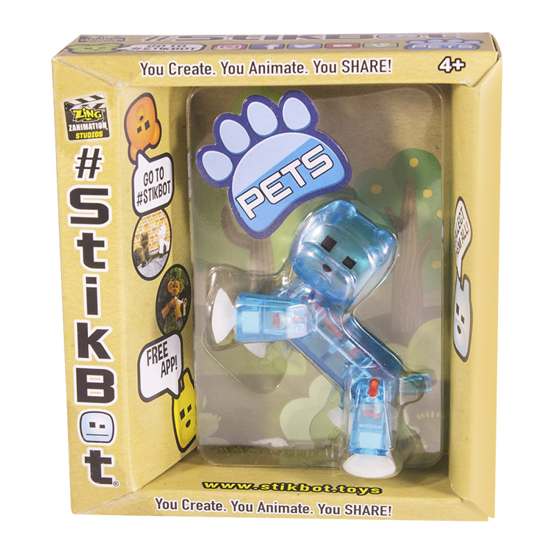 Stikbot Pets Single Pack - Assorted