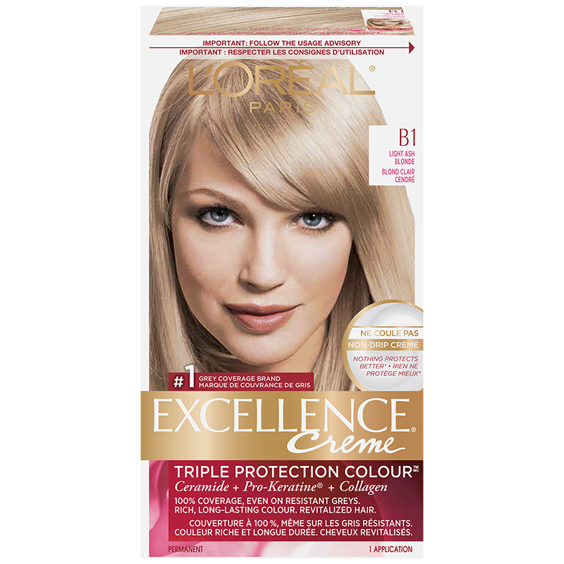 L Oreal Excellence Creme B1 Light Ash Blonde London Drugs