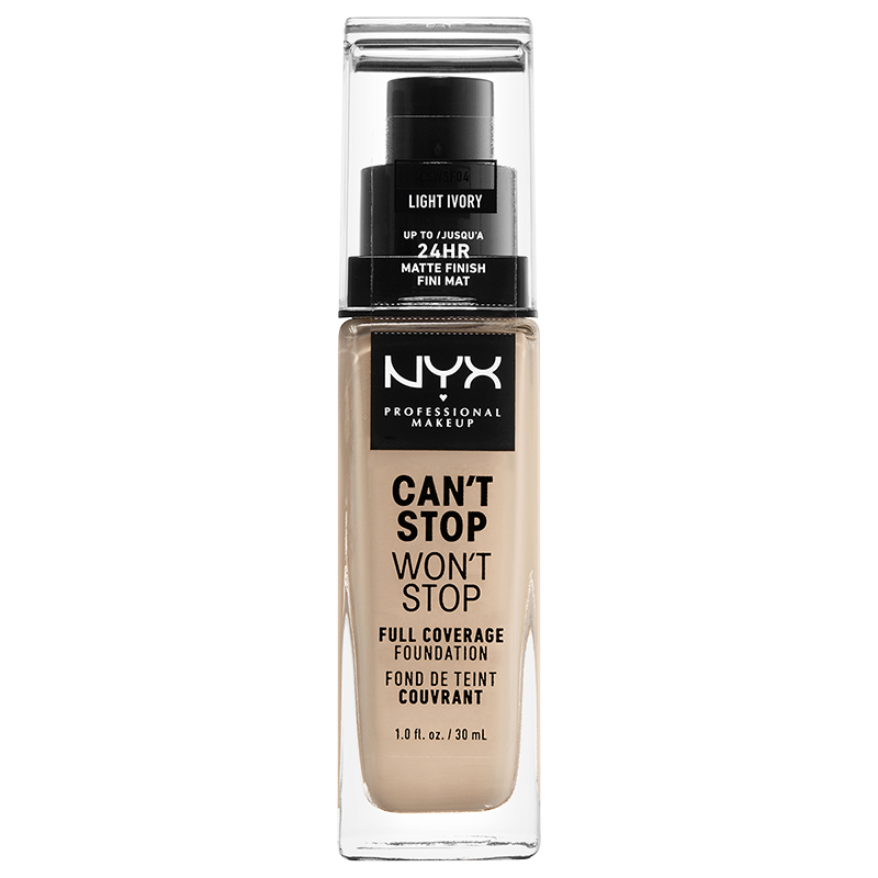 Image result for NYX Professional Makeup Can't Stop Won't Stop