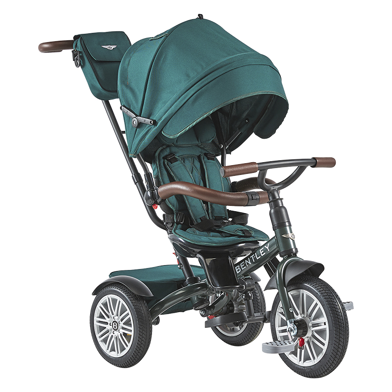 Bentley Tricycle Convertible Stroller -  Spruce Green - BN1G