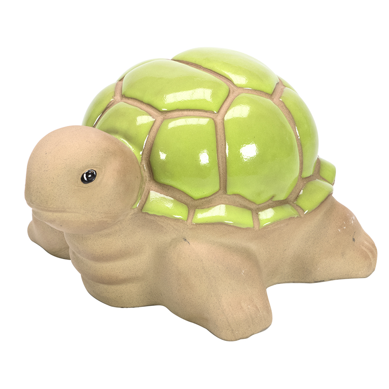 Fontina Ceramic Garden Turtle - Large - Assorted