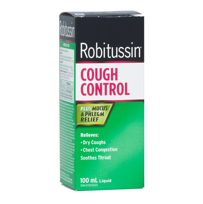 Robitussin DM Cough Contol Syrup - 100ml