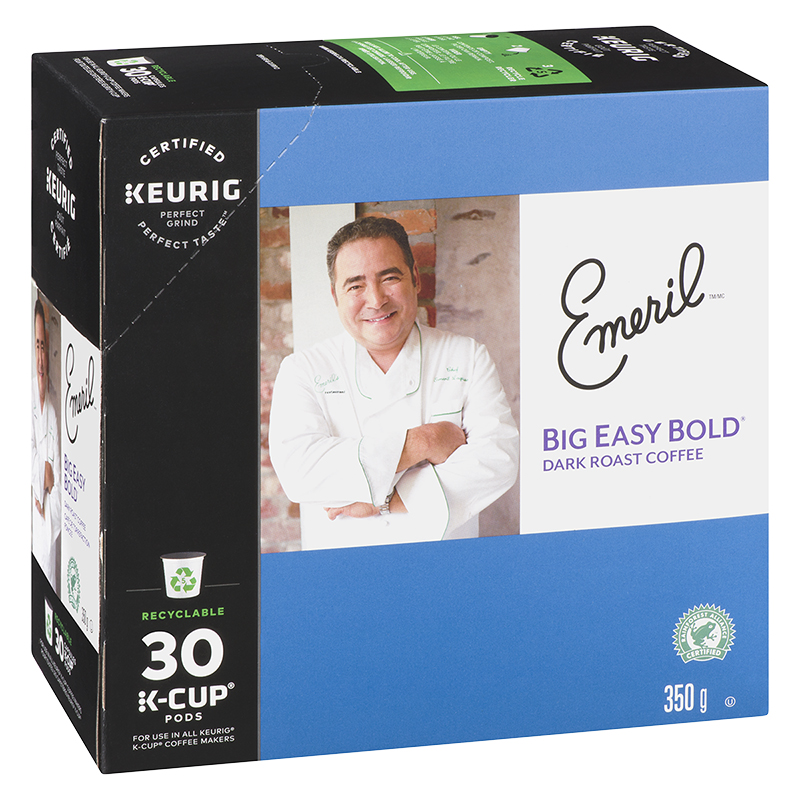 K-Cup Emeril Coffee Pods - Dark Roast Coffee - 30 Servings