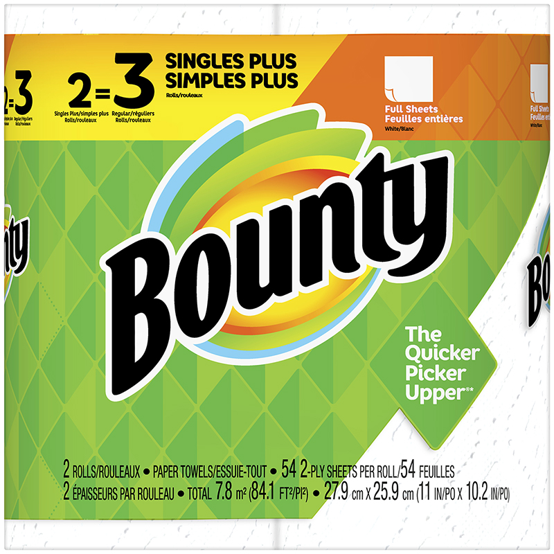 Bounty Paper Towels - 2's