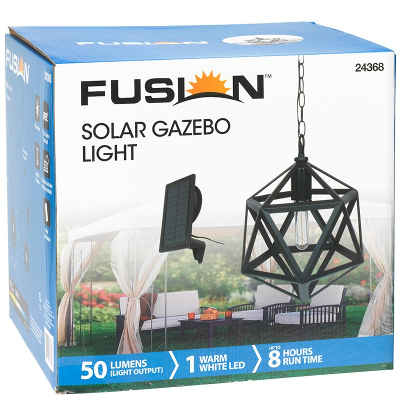 Fusion Solar Pendant 3D Light - Octogon