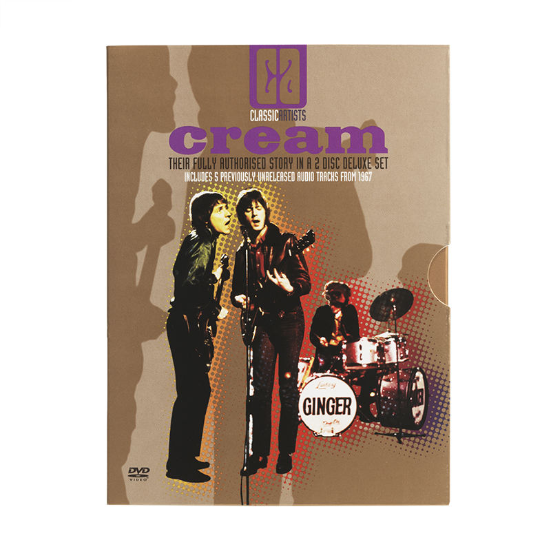 Cream - Classic Artists Series - 2 DVD