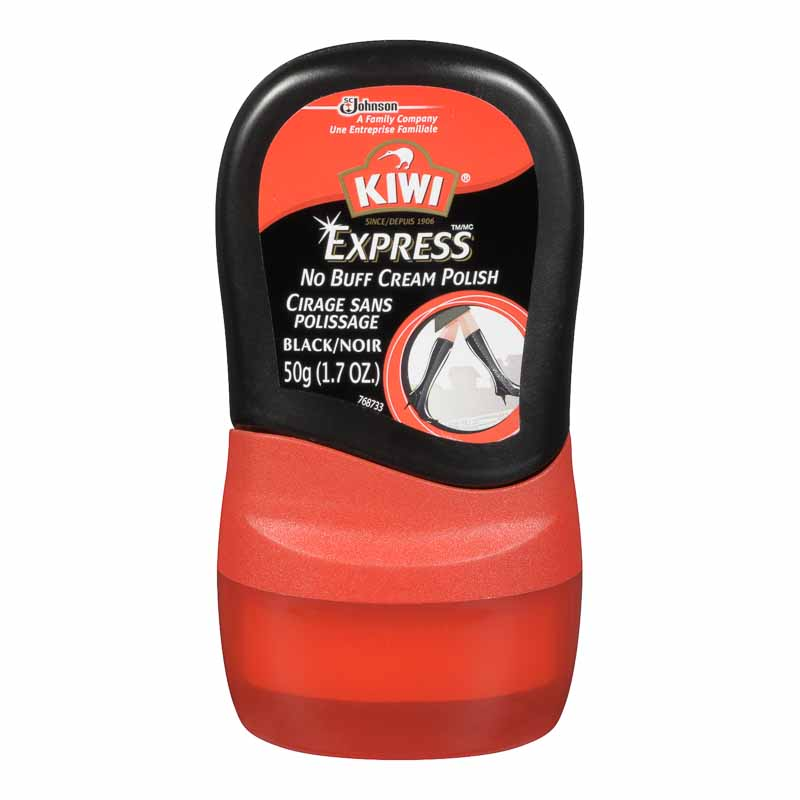 Kiwi Express Polish - Black - 50 g