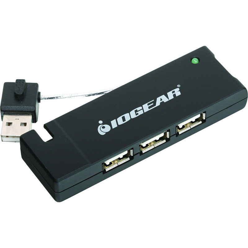 IOGEAR 4-Port USB 2.0 Thin Hub - GUH285