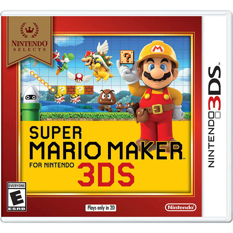 Nintendo 3DS Selects: Super Mario Maker - CCRPAJH6