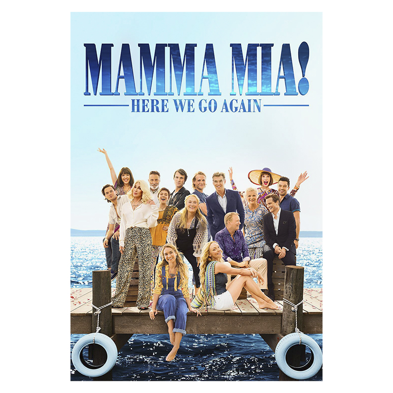 Mamma Mia! Here We Go Again - DVD