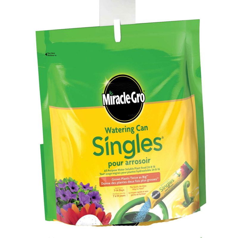 Miracle Gro Singles Water Soluble Plant Food - 288g