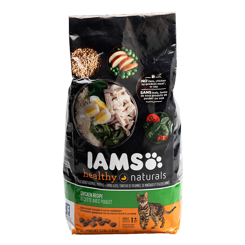 Iams Cat Food - Chicken Recipe - 2.49kg