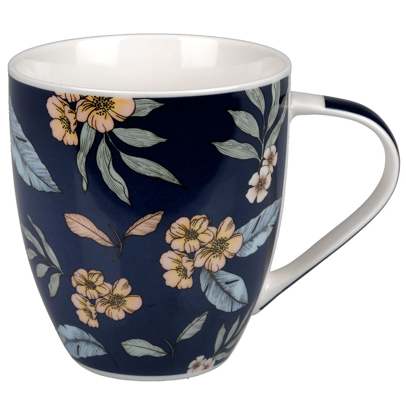 London Drugs Porcelain Floral Mug - 500ml - Assorted