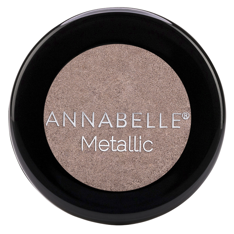 Annabelle Single Eyeshadow Metallic - Over the Taupe