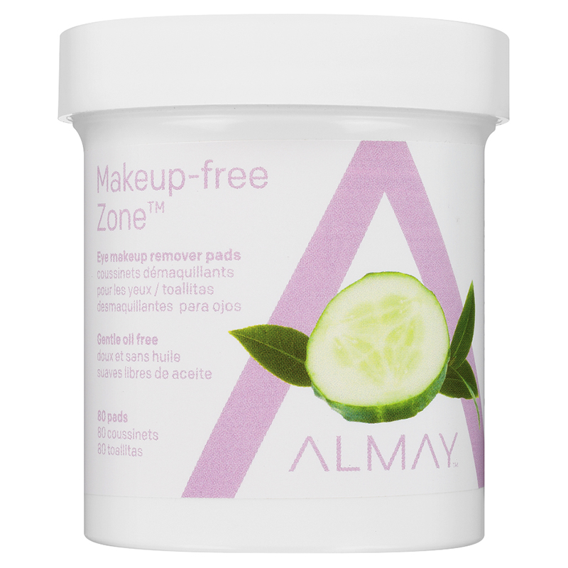 Almay Oil Free Gentle Eye Makeup Remover Pads - 80s