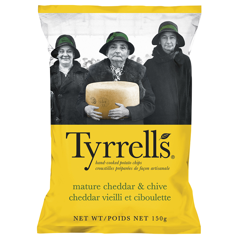 Tyrrell's Chips - Cheddar & Chive