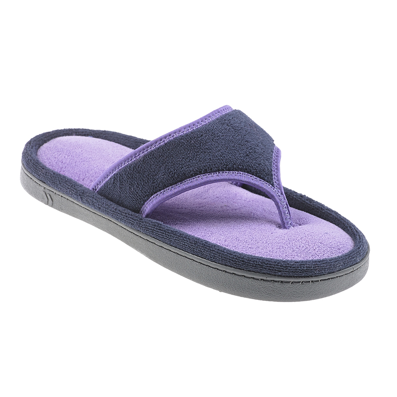 Isotoner Microterry Sandal Slipper