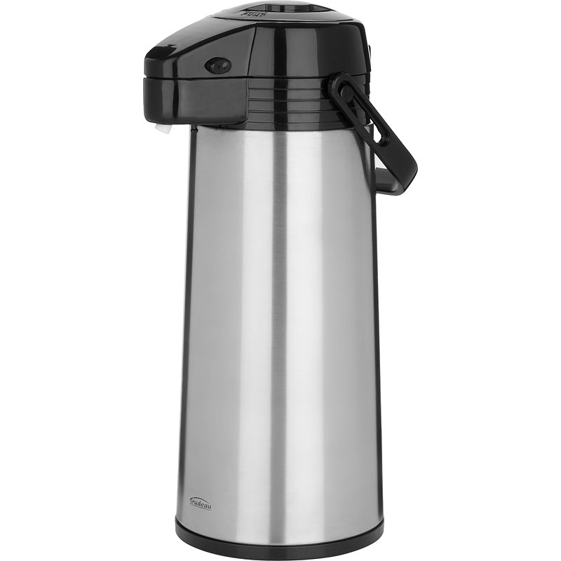 Trudeau Stainless Steel Pump Carafe - 64oz