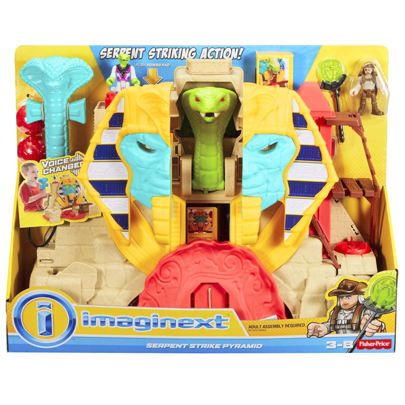 Fisher Price Imaginext Treasure Hunters - Serpent Strike Pyramid