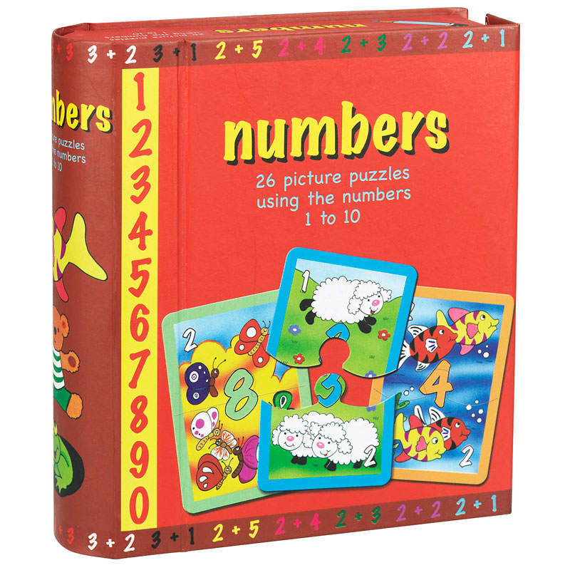 Spicebox Numbers Puzzles