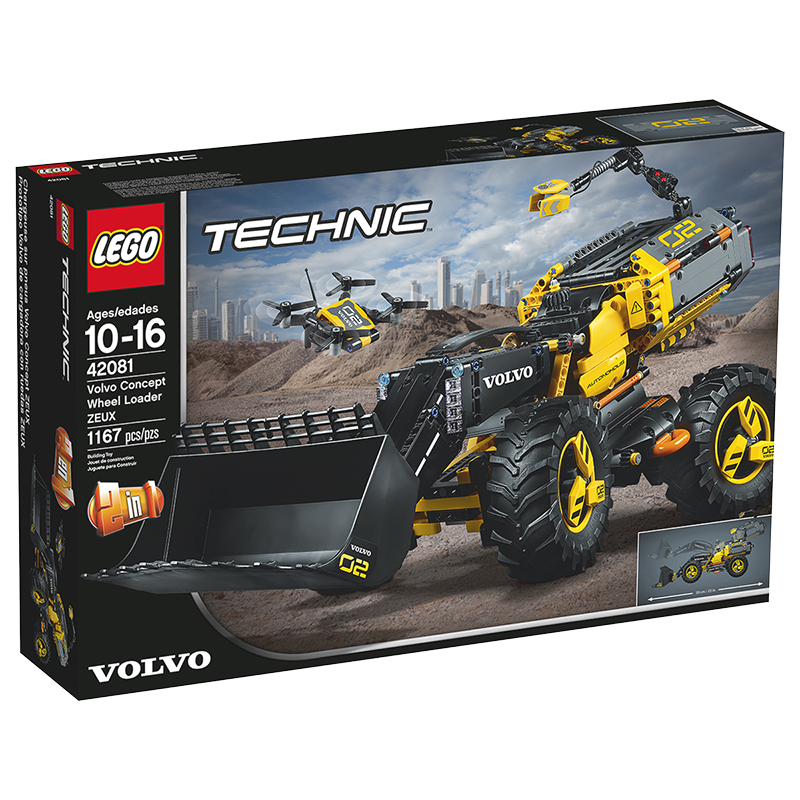 LEGO® Technic - Volvo Concept Wheel Loader ZEUX - 42081