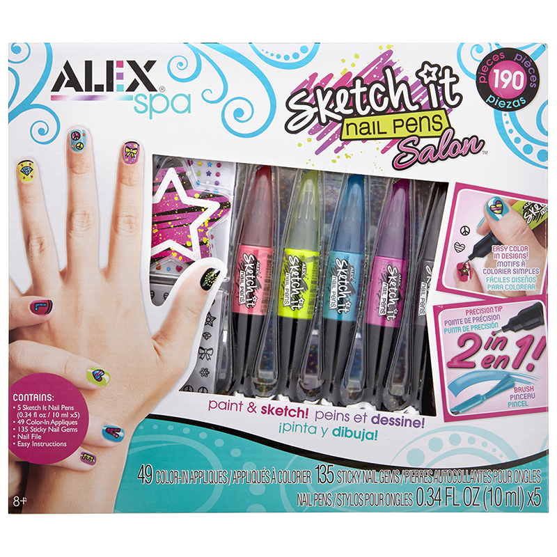 Alex Sketch It Nail Pen Salon