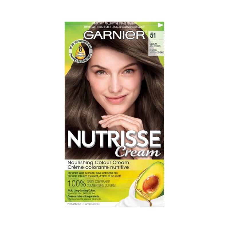 Garnier Nutrisse Ultra Color Permanent Hair Colour 51 Medium Ash