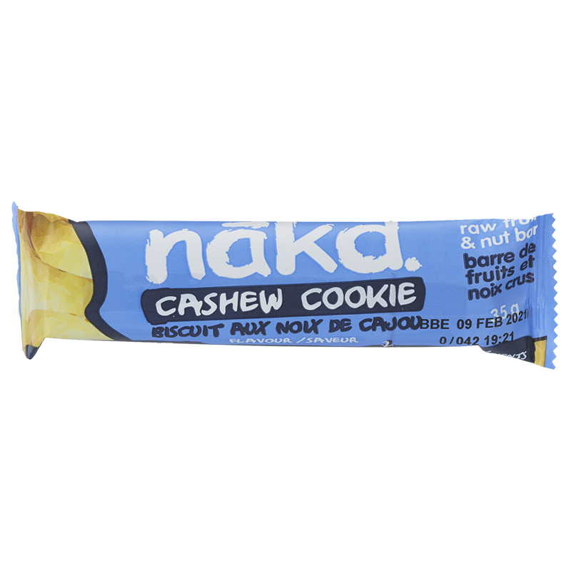 Nakd Raw Fruit & Nut Bar - Cookie Cashew - 35g