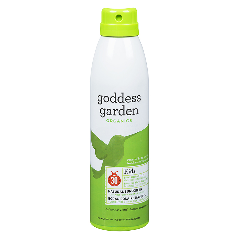 Goddess Garden Organics Kids Natural Sunscreen Spray - SPF30 - 170g