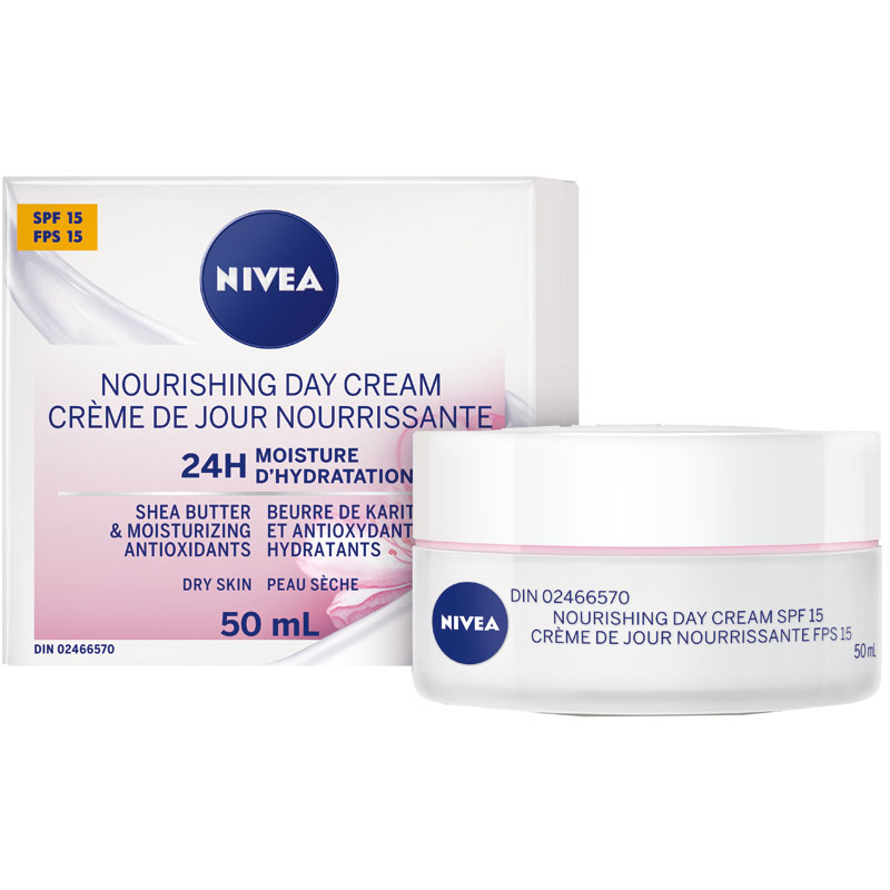 Nivea Essentials 24hr Day Cream - SPF15- 50ml