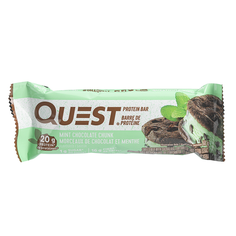 Quest Protein Bar - Mint Chocolate Chunks - 60g