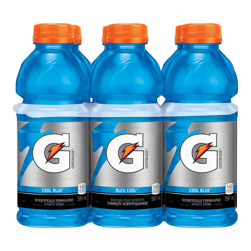 Gatorade Cool Blue - 6x591ml