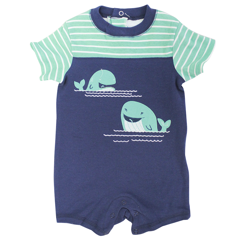 Baby Mode Short Sleeve Romper - Boys - 0-24 months - Assorted
