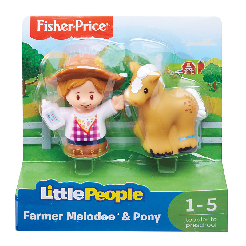 Fisher Price Little People Melodee and Pony