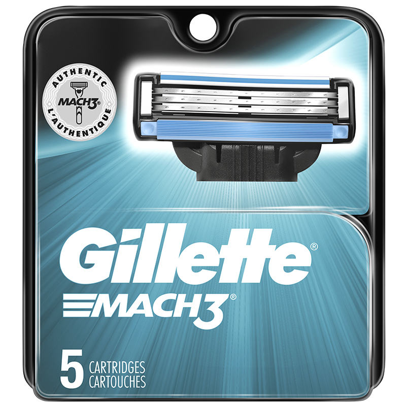 Gillette Mach3 Cartridges - 5's