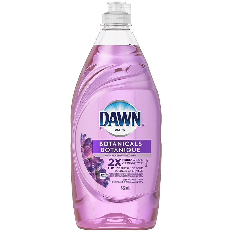 Dawn Escapes Dishwashing Liquid - Mediterranean Lavender - 532ml