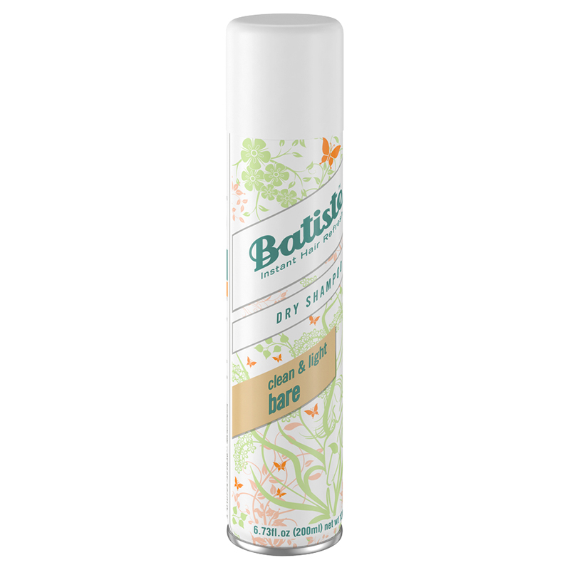 Batiste Dry Shampoo - Clean & Light Bare - 200ml