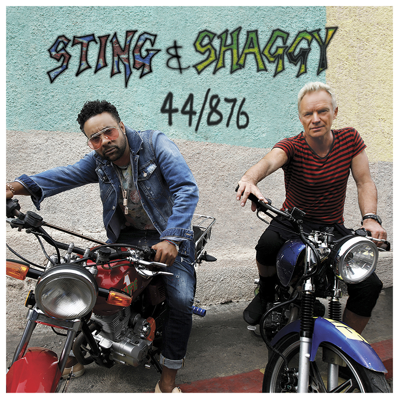 Sting & Shaggy - 44/876 - CD