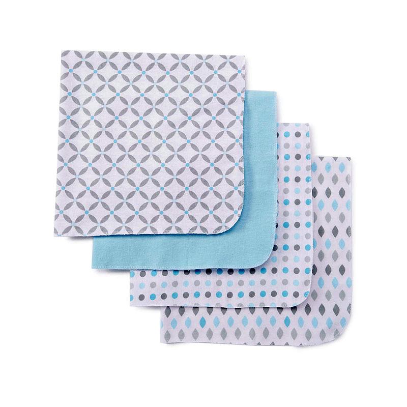 Baby Mode Receiving Blankets - 4 pack - Assorted