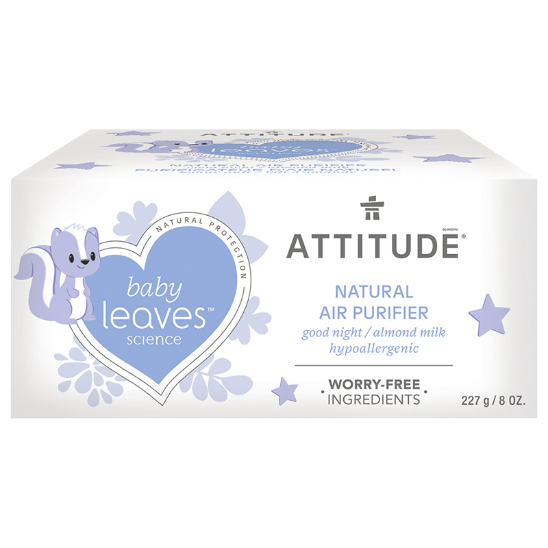 Attitude Baby Leaves Natural Air Purifier - Almond Milk - 227g