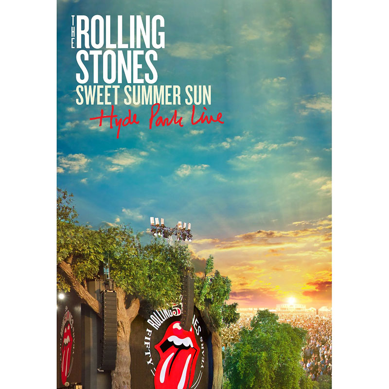 The Rolling Stones : The Sweet Summer Sun - Hyde Park Live - DVD