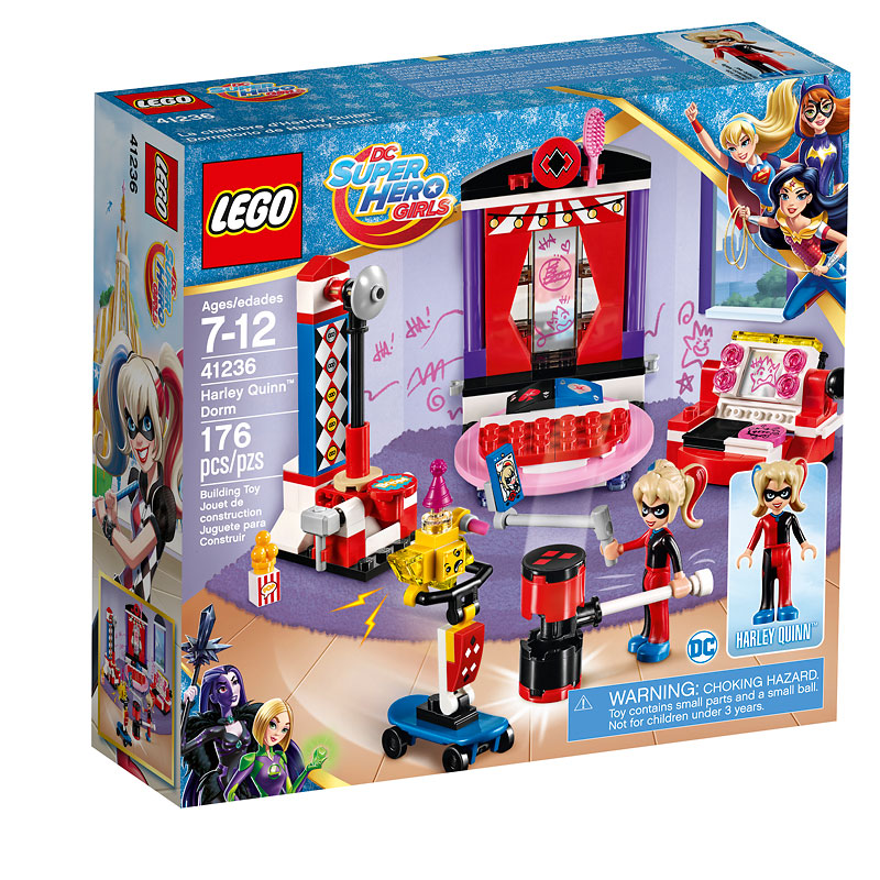 LEGO® DC Super Hero Girls - Harley Quinn Dorm