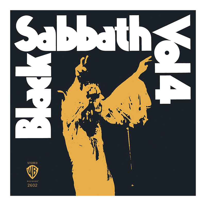 Black Sabbath - Vol. 4 (Limited Edition) - 180g Orange Vinyl