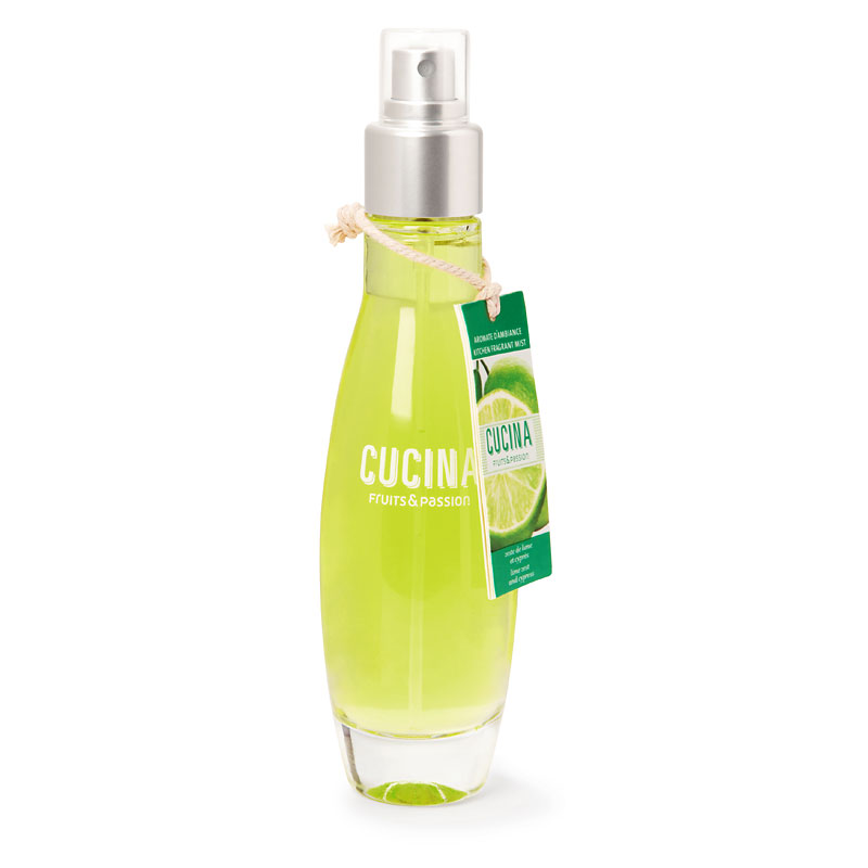 Fruits & Passion Cucina Room Spray - Lime Zest and Cypress - 100ml