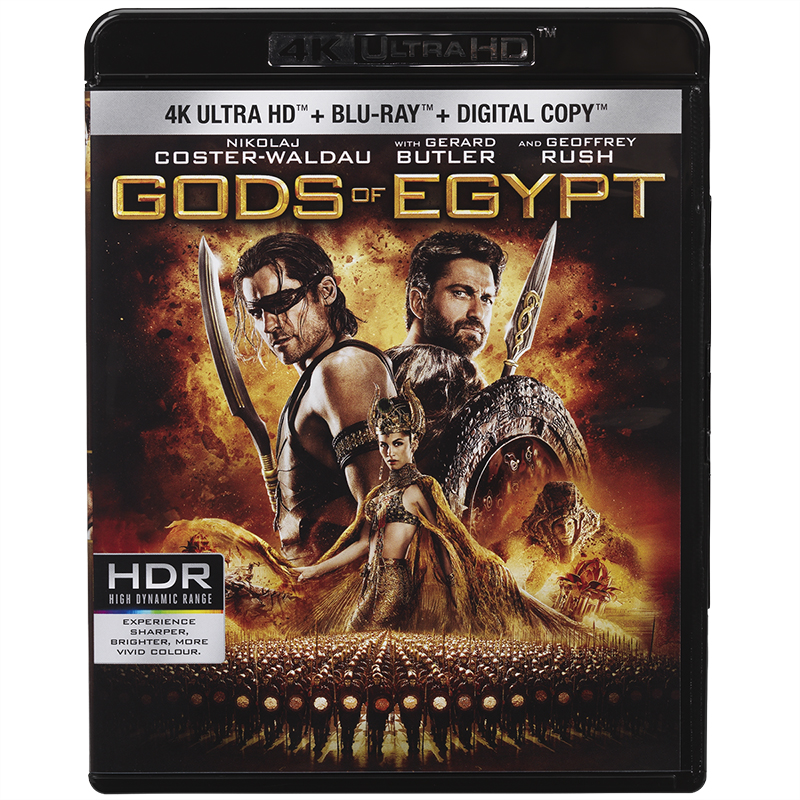 Gods of Egypt - 4K UHD Blu-ray