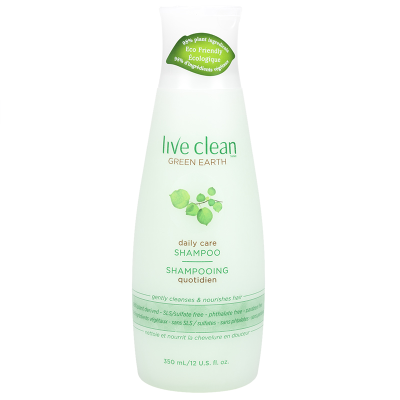 Live Clean Green Earth Invigorating Shampoo - 350ml