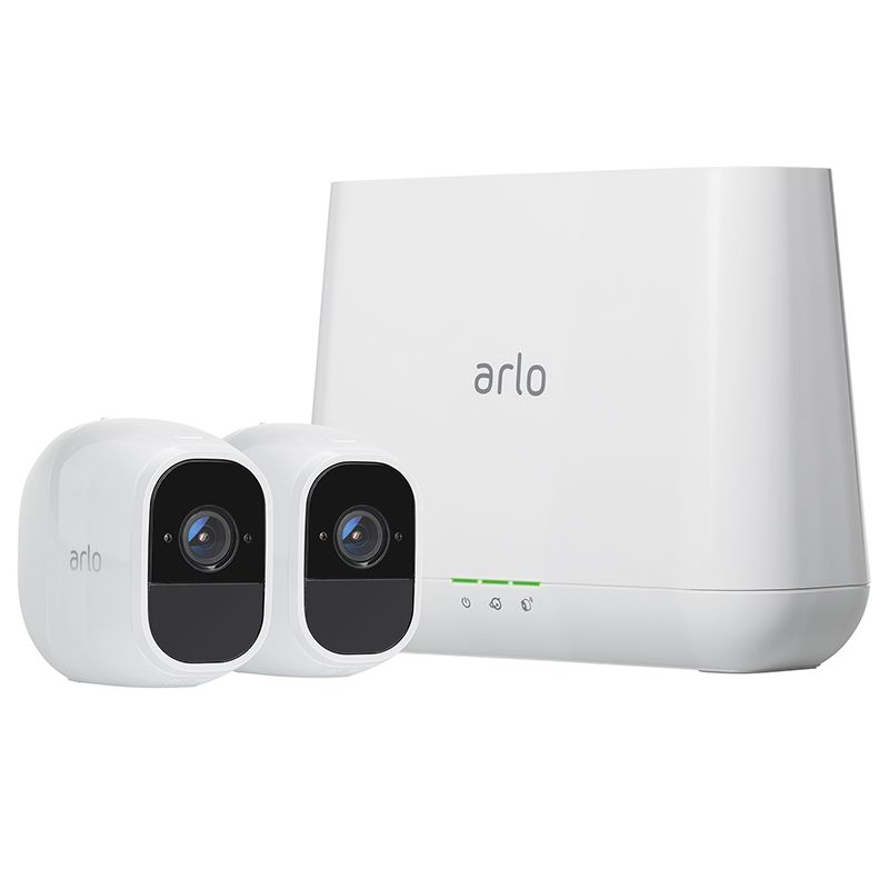Arlo Pro 2 Security Camera - 2 Camera Set with Base Station - VMS4230P-100PAS