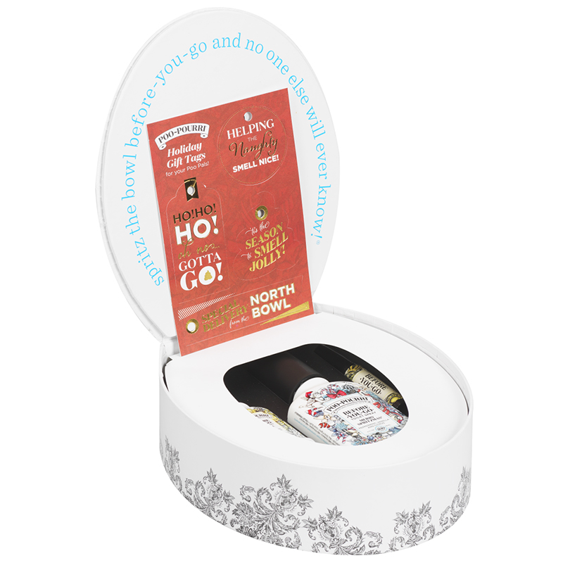 Poo-Pourri North Bowl Potty Box Gift Set