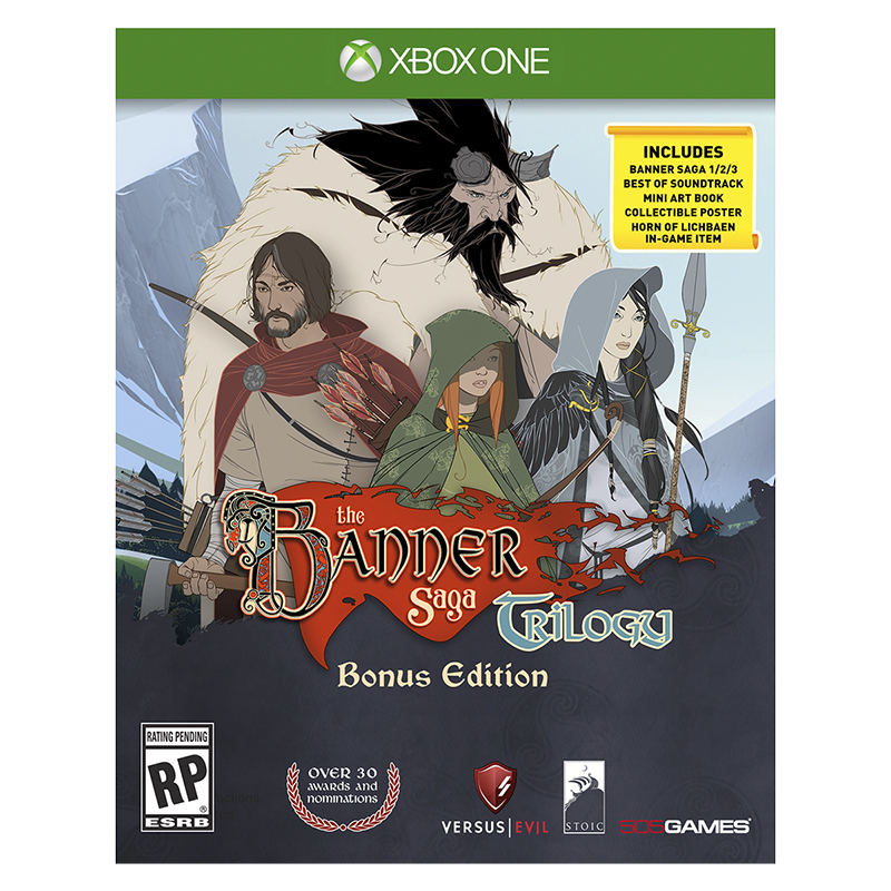 Xbox One Banner Saga Trilogy Bonus Edition